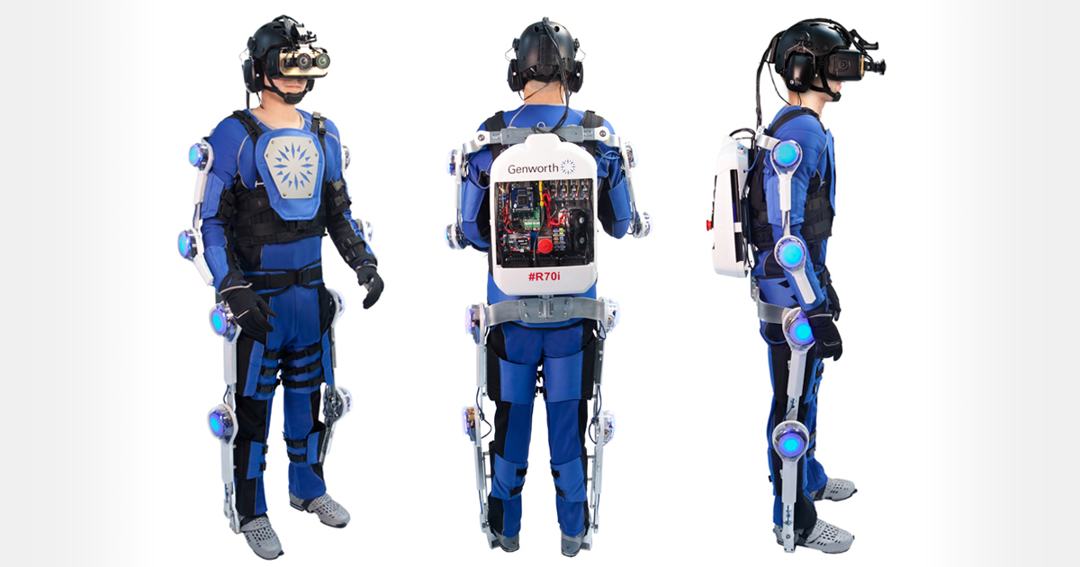 R70i Aging Experience & Age Simulation Suit | Genworth