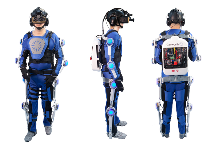 Genworth R70i Age Simulator Suit