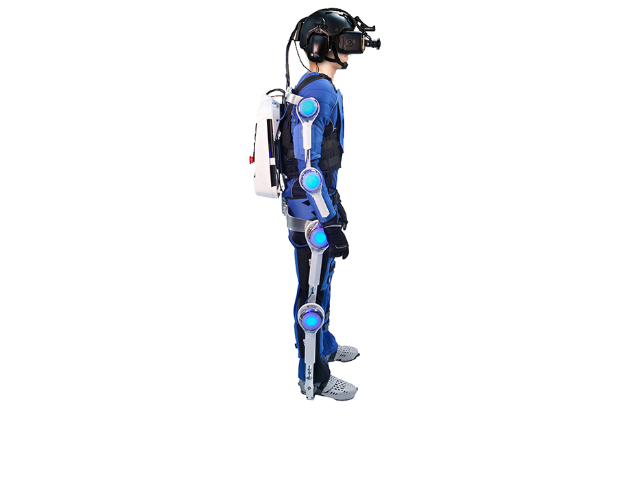 R70 Interactive Suit Side View